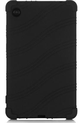 Ally Lenovo Tab M7 7 Inç TB-7305F Silikon Kılıf Siyah