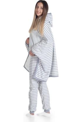 Owli Giyilebilir Battaniye Yetişkin