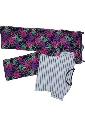 Rose Moda Günlük Pantalon Alt Üst Takım
