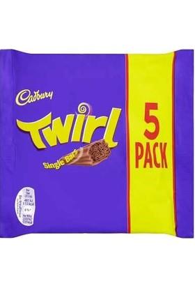 Cadbury Twirl Çikolata (5X21.5 gr) 107.5 gr