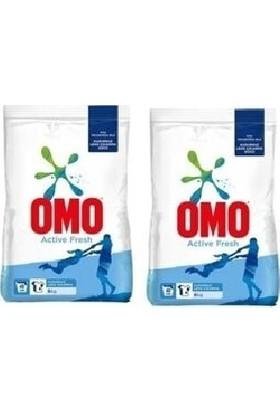 Omo Matik Toz Çamaşır Deterjanı Active Fresh 6 kg 2'li