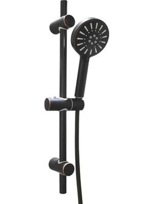 Bien Hermes Hareketli Üst Takım 3f ve Hermes Banyo Bataryası Fırçalı Bronz -Rose Gold