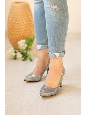 Pabucmarketi Kadın Stiletto Ayakkabı
