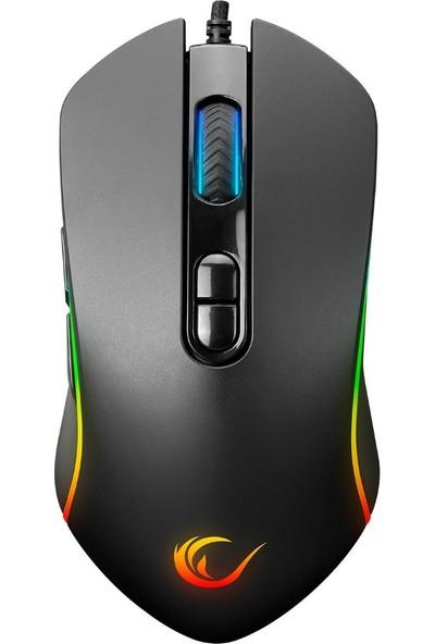 Rampage SMX-G65 Alpor USB 7 Tuşlu 7200DPI RGB Ledli Mouse