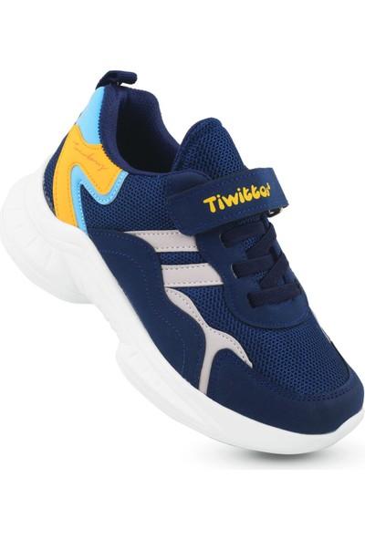 Kaptan Junior Erkek Çocuk Spor Sneaker Yürüyüş Ayakkabı