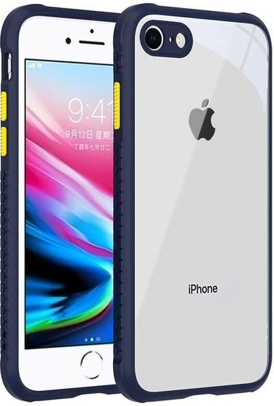 Zore Apple iPhone Se 2020 Kılıf Zore Kaff Kılıf Lacivert