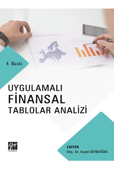 Uygulamalı Finansal Tablolar Analizi - Aysel Gündoğdu