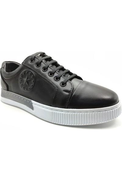 Artmen Plus Serisi Deri Erkek Siyah Günlük Ayakkabı 1051120