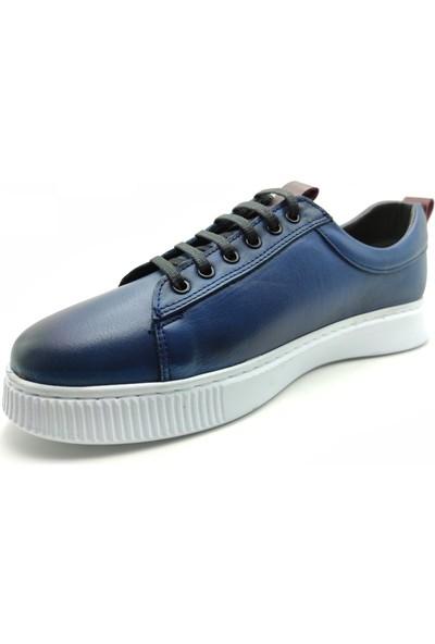 Artmen Plus Serisi Hakiki Deri Erkek Mavi Günlük Ayakkabı 1051130