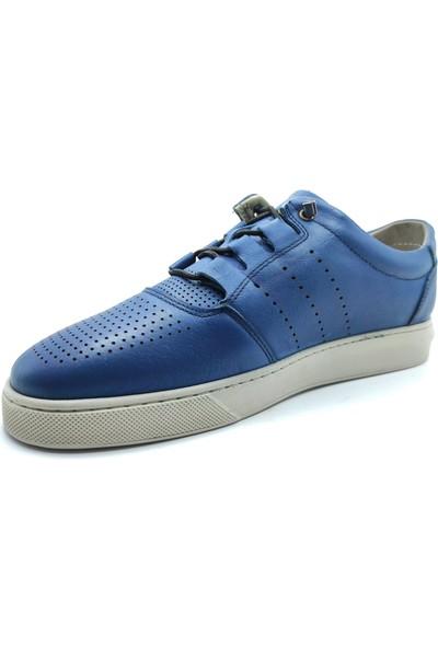 Artmen Lotus Yumuşak Deri Mavi Erkek Günlük Ayakkabı 1030129