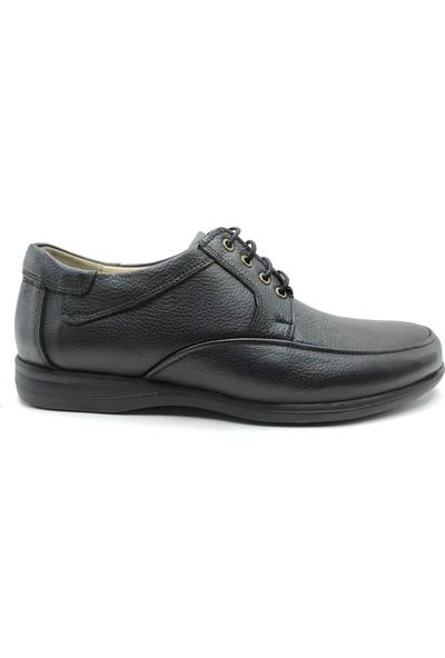 Artmen Deri Siyah Bağlamalı Erkek Comfort Günlük Ayakkabı 1030201