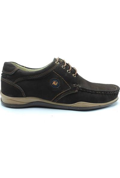 Artmen Nubuk Deri Kahverengi Erkek Günlük Ayakkabı 1030219