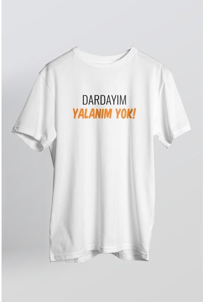 Limon Unisex Yazılı T-Shirt