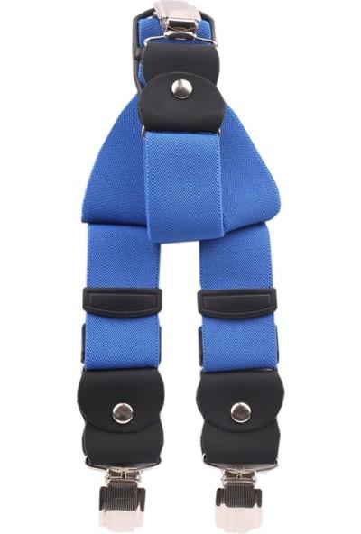 Biblio Erkek Pantolon Askısı / Mavi