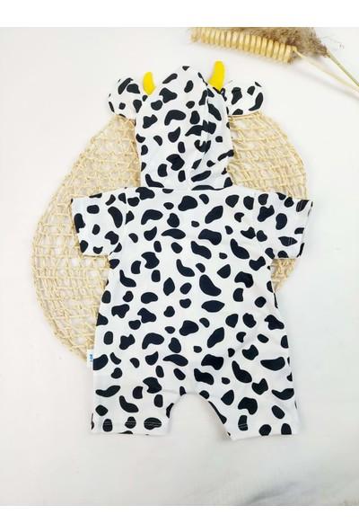 MNK Inek Kostüm Bebek Yazlık Tulum