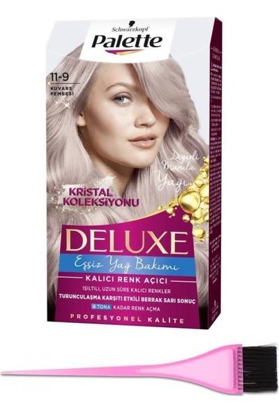 Palette Saç Boyası 11-9 Kuvars Pembesi + Boya Fırçası