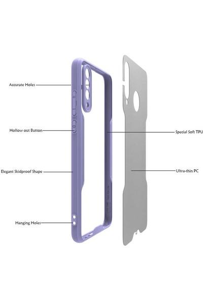 Casestore Huawei P30 Lite Mat Kamera Korumalı Parfe Kılıf - Mor