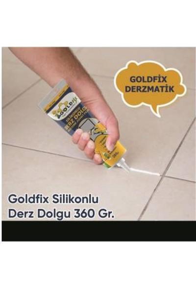 Goldfix Derz Seti Gaga Uçlu 380 gr Beyaz Hazır Derz Dolgusu ve Tamir Temizleme Seti