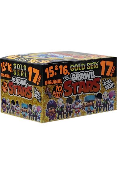 Redro Home Brawl Stars 15-16-17 Gold Seri 240 Adet Oyun Kartı