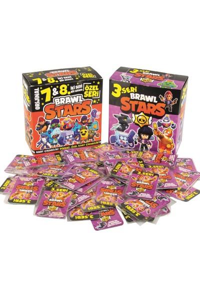 Redro Home Brawl Stars 7 ve 8. Seri 450'LI ve 3. Seri 360'LI Oyun Kartları