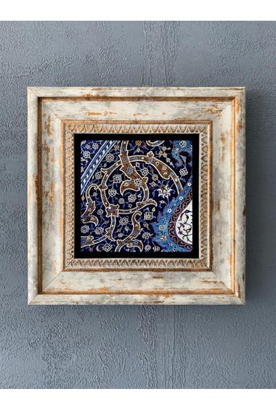 Oscar Stone Decor Çerçeveli Taş Duvar Dekoru 20 x 20 cm CDD1-40-304