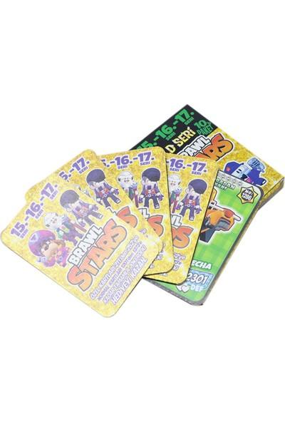 Redro Home Brawl Stars 15-16-17 Gold Seri 100 Adet Oyun Kartı