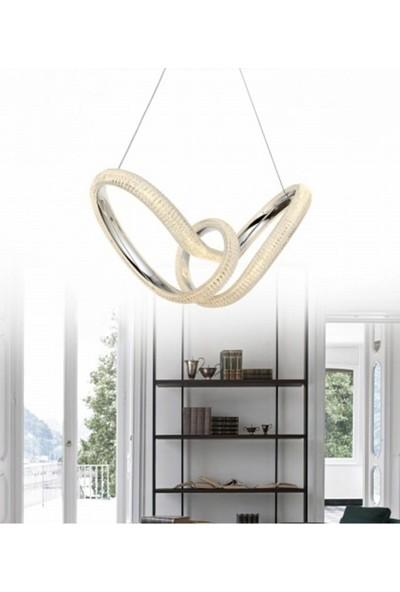 Burenze Elegance Modern Luxury Sarkıt LED Avize Kademeli 3 Renk BURENZE847