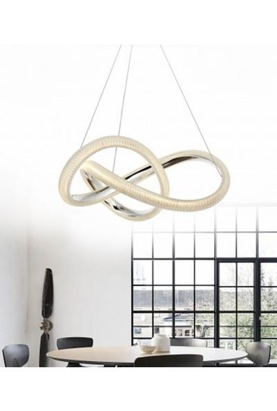 Burenze Elegance Modern Luxury Sarkıt LED Avize Kademeli 3 Renk BURENZE849