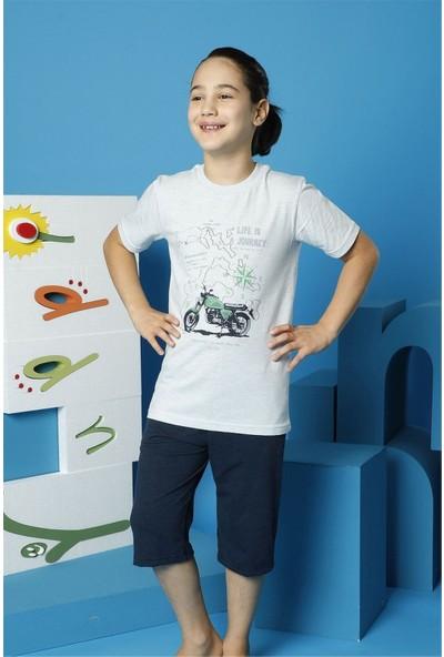 Hmd Erkek Çocuk Garson Boy Kısa Kollu Kapri Takım 7158