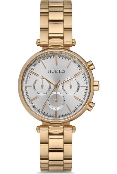 Homies HM18788S01-GGS Kadın Kol Saati