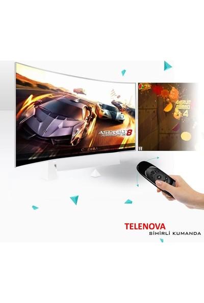 """Telenova 40NSK9001 40"""" 101 Ekran Uydu Alıcılı Full Hd Android LED Tv"""