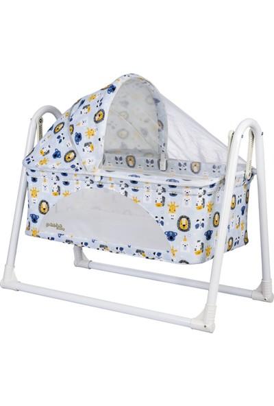 Pasha Baby Comfort Portatif Anne Yanı Sallanır Sepet Beşik