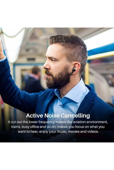Tozo Nc2 Hibrit Aktif Gürültü Önleyici Hifi Kablosuz Kulaklık Bluetooth 5.2 (Yurt Dışından)