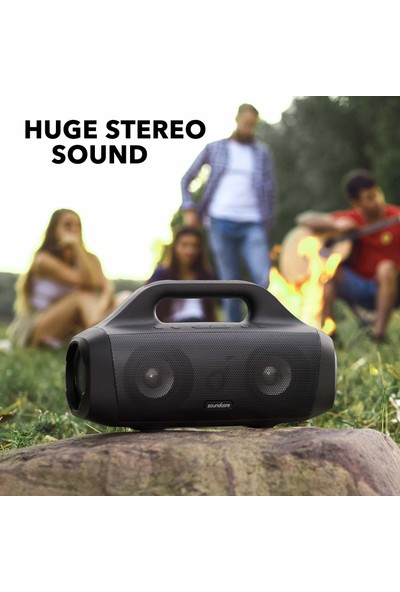 Anker Soundcore Motion Boom Outdoor Hoparlör Ipx7 Titanyum Sürücüler (Yurt Dışından)