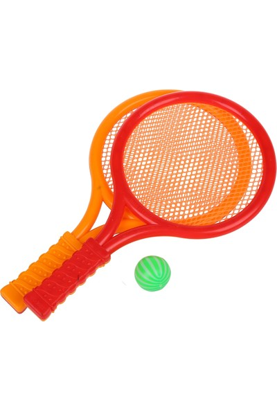 Tgb Tenis Raketi Küçük ve Top Plastik