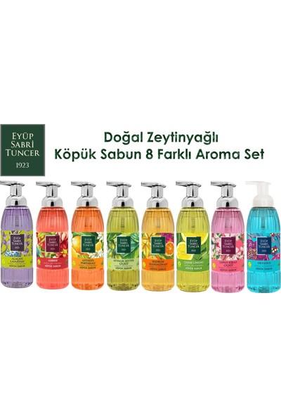 Eyüp Sabri Tuncer Köpük Sabun 500ML x 8 Aroma Set