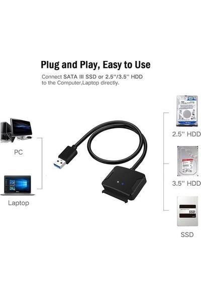 Daytona FC04HD USB 3.0 To Sata HDD Sdd Tak Çalıştır Dönüştürücü Adaptör