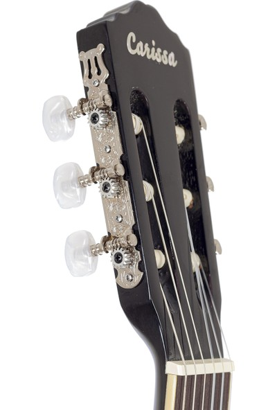 Carissa CG-200 Sce Bk Ince Kasa Elektro Klasik Gitar