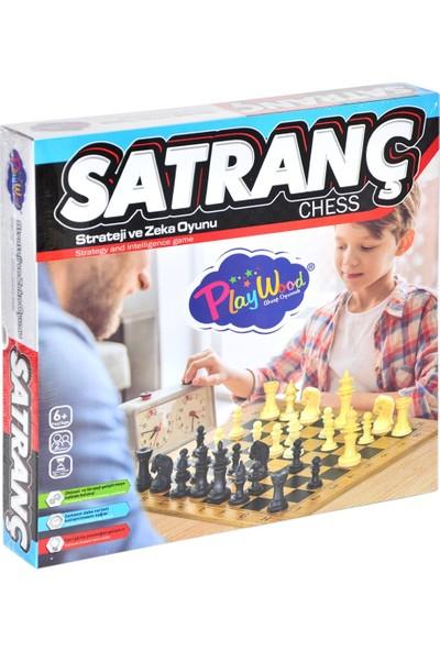 Onyıl Oyuncak 212-ONY Kutuda Ahşap Satranç Oyunu