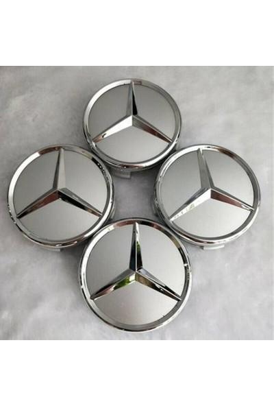 Ottocar Mercedes Jant Göbeği Tüm C ve E Serisi Araçlar Için --4 Adet Fiyatıdır--Dıştan 7.5cm Ölçü