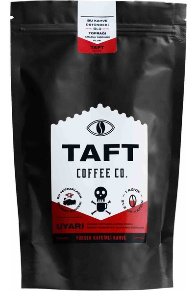 Taft Coffee Yüksek Kafeinli Filtre Kahve 250 gr