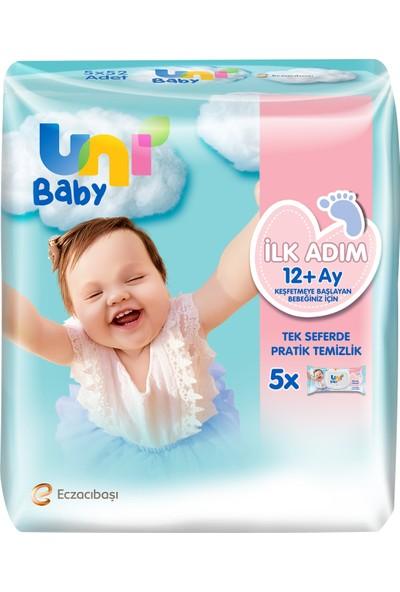 Uni Baby Ilk Adım Islak Mendil 5'li 260 Yaprak