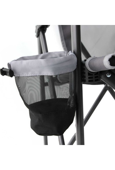 Gci Outdoor Eazy Kamp Sandalyesi Xl Siyah