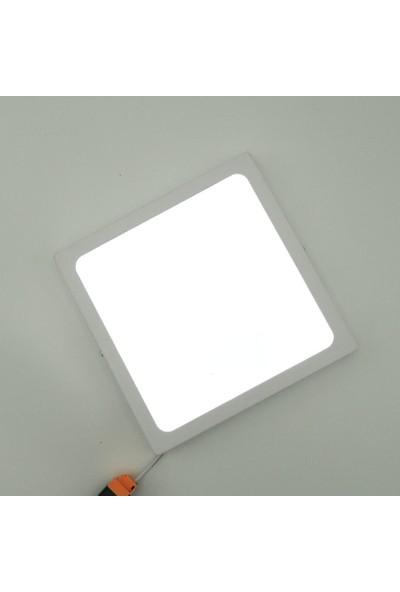 Sunlight Kare Sıva Üstü 25 Watt LED Panel Armatür Trafolu Beyaz Gün Işığı
