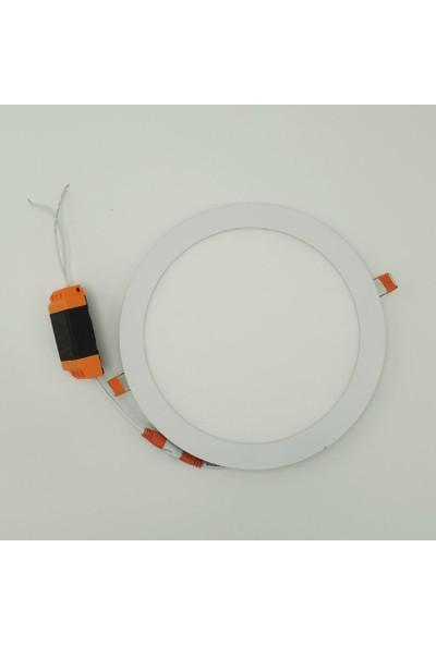 Sunlight Sıva Altı 16 Watt Slim LED Panel Armatür Trafolu Beyaz Gün Işığı