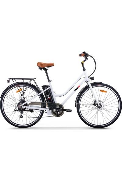 Rks Mj-1 Elektrikli Bisiklet (Beyaz)