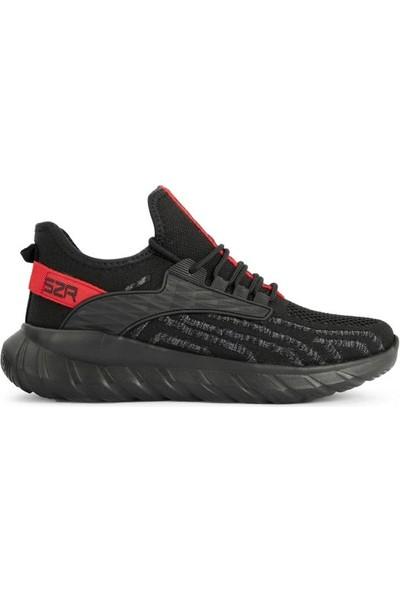 Slazenger Zıa Erkek Günlük Spor Ayakkabı Siyah-Gri SA11RE353-518