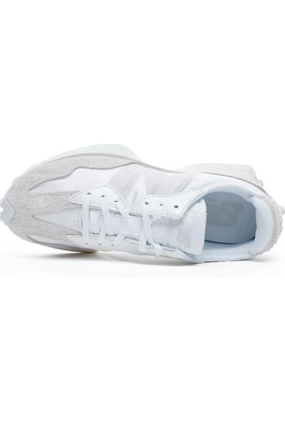 New Balance 327 Unisex Beyaz Spor Ayakkabı WS327SFD.100
