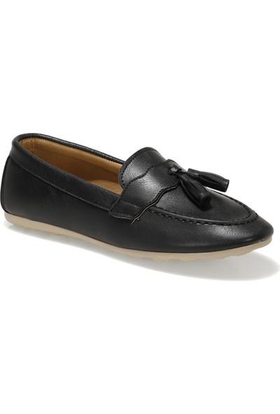 Miss F DS21007 1fx Siyah Kadın Loafer Ayakkabı
