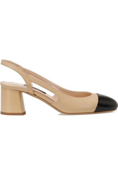 Nine West Sendar Naturel Kadın Klasik Topuklu Ayakkabı